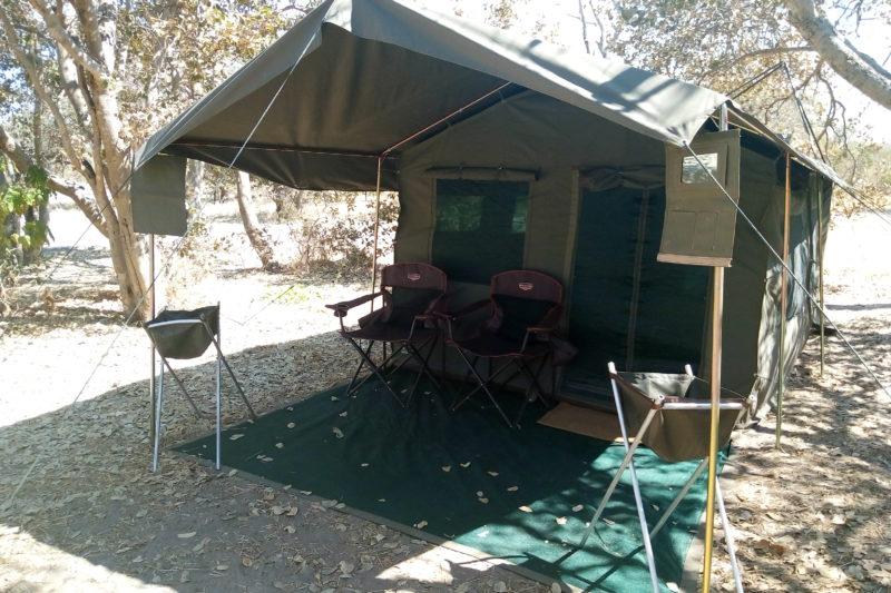 Campi tendati Namibia