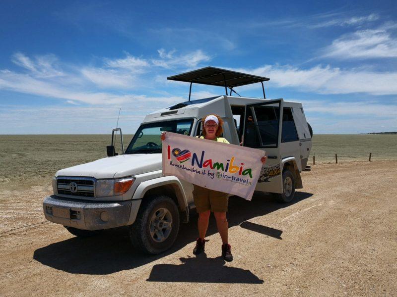 Caterina Migno guida safari professionista in-travel e IloveNamibia.it