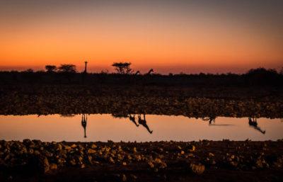 Namibia tramonto